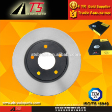 car Front disc brake rotor,car parts of brake system, auto parts