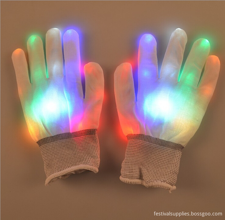 colors chaning led gloves light