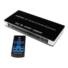 HDMI Switch 5 ports with AC Power Adapter