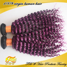2014 Nova Chegada Cor Natural Virgem Mongol Kinky Curly Tecer Cabelo Humano
