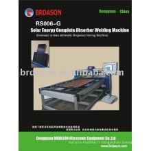 Machine de soudure ultrasonique de petit pain de panneau solaire de RS006-G