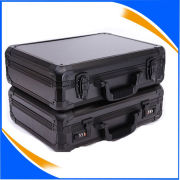 Silver Aluminum Case With Foam For Tool / Camera / Hardware and More