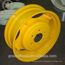 Настроить сделанные колеса колес трактора w8 * 24