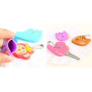 3D Soft PVC Key Chains / Silicone Keyring / Plastic Key Chain