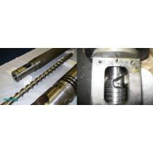 Kunststoff Extruder Schraube und Fass