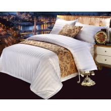 100% хлопок сатин полоса постельное белье для отеля / дома (WS-2016323)