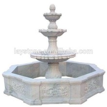 Simple design marble water fountain sale