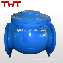 api cast steel swing abs swing thin check valve dn50 pn16