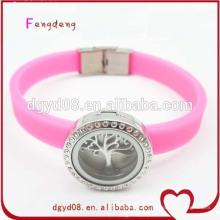 Référence du fabricant vente chaude nice 2014 silicon bracelet