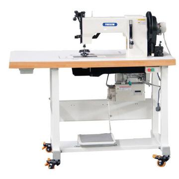 Máquina de costura de sapatos de ponto mocassim agulha dupla cama plana