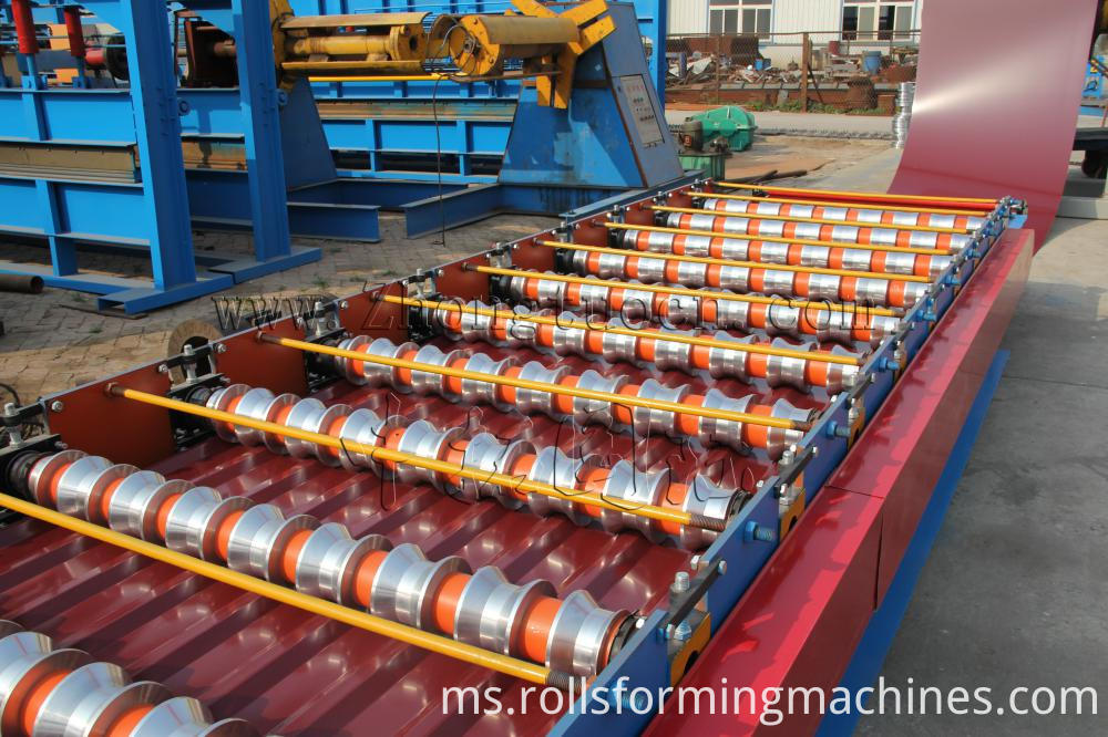 color steel roll forming machine