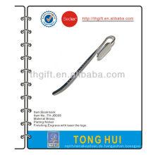 Nickel-Beschichtung leeres Metall-Lesezeichen für Werbeartikel