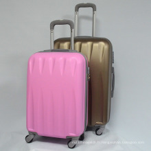 ABS Trolley Case Bagages Zippercase Hard Shell