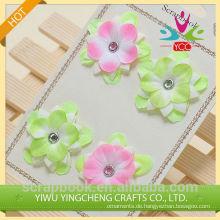 Gutes Produkt hübsche Dekoration Stoffblume für Sammelalbum