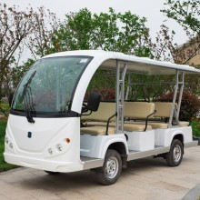 Customized for 14 Seat Electric Shuttle Bus gas powered 11 passenger shuttle bus export to Anguilla Manufacturers