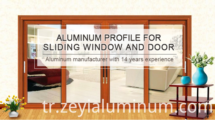 Sliding Door Aluminium Profile