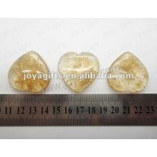 35MM Forme du cœur, melonerie, pierre de café, haute polie, haute qualité, pierre naturelle en forme de cœur