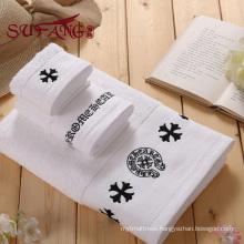 Hotel towel 16s customized Platinum satin towel chaeap towels