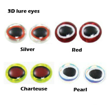 Señuelo que hace ojos de señuelo de pesca 3D