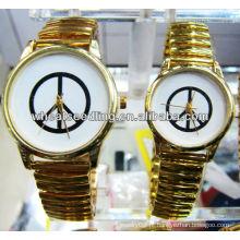 Alta qualidade amantes relógios de pulso para casal presente