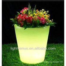 Potenciômetro de flor decorativa LED, plantador de céu moderno, pós-moderno de vaso