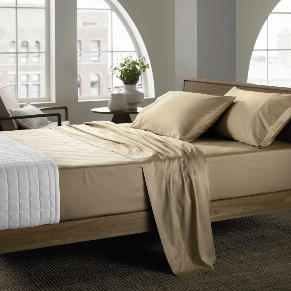 Solid Cvc Bedding Set
