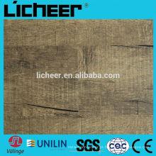Preço do piso de vinil / vinil pavimento comercial / piso de pvc de alta qualidade / revestimento UV