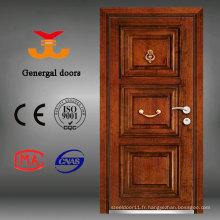 Porte extérieure en acier et en bois style Turquie