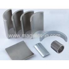 Arc Permanent Ndfeb Magnets/sintered Neodymium Segment Magnet With Ni-cu-ni,zn,ni Coating