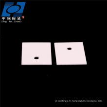 Plaque de substrat en céramique d'alumine cordiérite de 95
