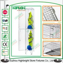 Building Site Stahldraht Mesh Locker für hängende Kleidung