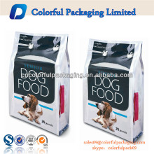 custom printing plastic dog food packaging bags china manufacturer