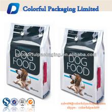 custom printing plastic dog food packaging bags china manufacturer