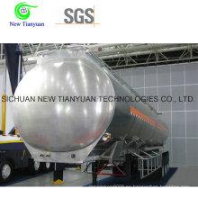 20m3 Volumen LNG Semirremolque Tanque Criogénico
