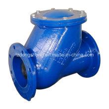 Vanne de retenue à bille d'eau en fonte Dn100