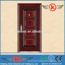 JK-S9209 safety steel apartment building entry doors for sale