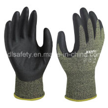 Nitrile Dipping Anti-Cut Work Glove with Steel Fiber (NK3046)