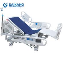 Lit d'hôpital réglable électrique de réadaptation d'Icu d'équipement médical SK005-1