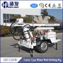 Pequeño equipo de perforación del precio de fábrica, 120m pequeña máquina de perforación del pozo de agua