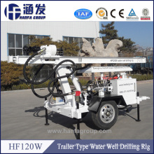 Factory Price Small Drilling Rig, 120m Small Water Well Drilling Machine