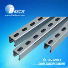 Heißer Bad Gvanized kleiner Stahlkanal hergestellt in China