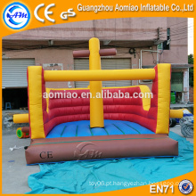 Indoor inflável playground inflável jumper bouncer mat venda