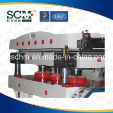 Caja de joyería hidráulica automática Logo Máquina de estampado caliente