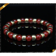 Perlas de cornalina pulseras hechas a mano (CB092)