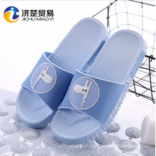 The new Cute cartoon with slippers couple home slippers unisex shoes