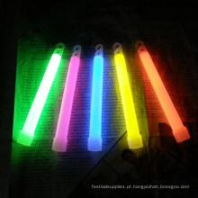 brinquedos de férias brilham varas de 6 polegadas