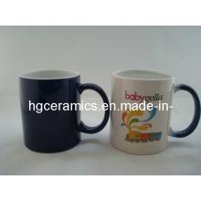 Dark Blue Color Change Mug, Color Change Mug