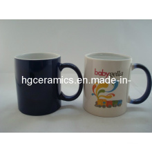 Dark Blue Color Change Mug, Color Change Mug