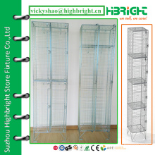wire locker,wire mesh locker,steel wire storage clothes locker