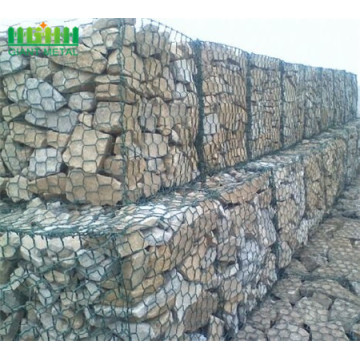 Hot Dipped Galvanized Hexagonal Wire Mesh Gabion Box